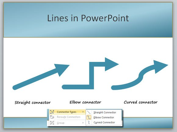 Drawing Lines With Powerpoint : Changing lines in powerpoint presentation