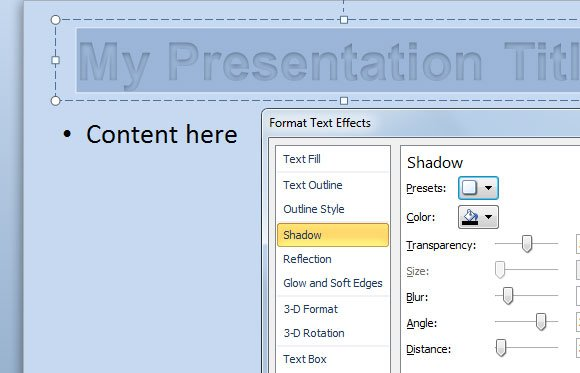 ... Custom Chart Template in PowerPoint 2010   PowerPoint Presentation