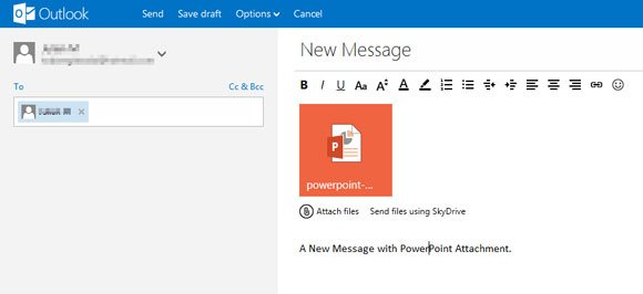 hotmail email template upgrade your hotmail account to powerpoint