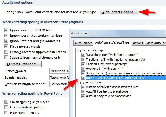 how to add internet hyperlink to word 2010