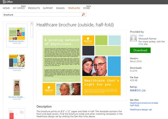 brochure templates for powerpoint simple brochure templates for powerpoint powerpoint