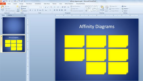 Free affinity diagram template ccuart Choice Image