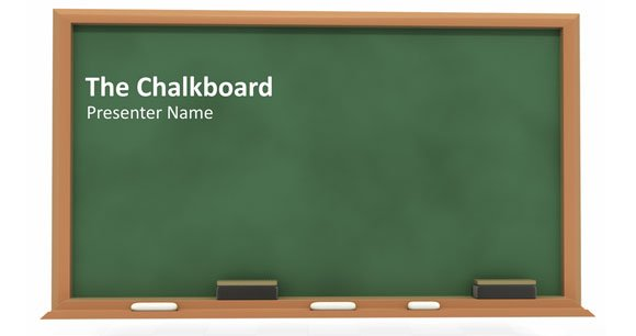 how to create a simple powerpoint blackboard presentation powerpoint presentation. Black Bedroom Furniture Sets. Home Design Ideas