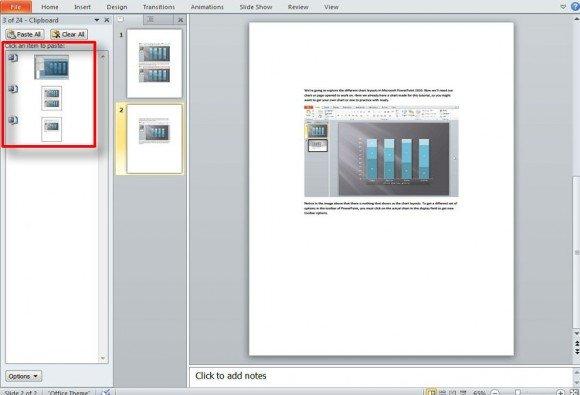 open pdf presentation in powerpoint