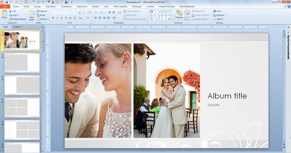 Sample Wedding PowerPoint Templates to Download