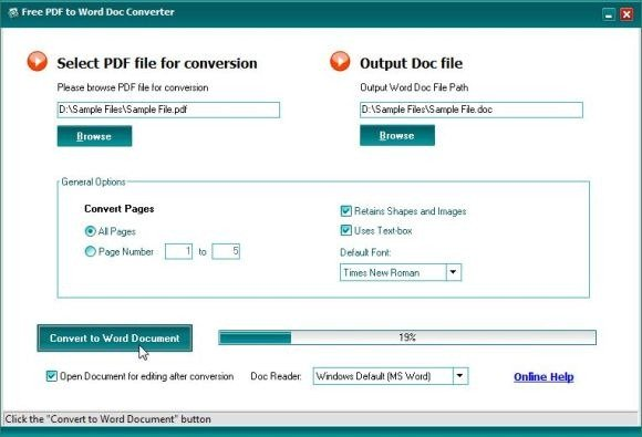 ms word to pdf converter online