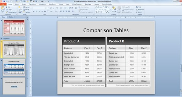 Doc600424 Product Comparison Template Word Simple Comparison – Product Comparison Template Word