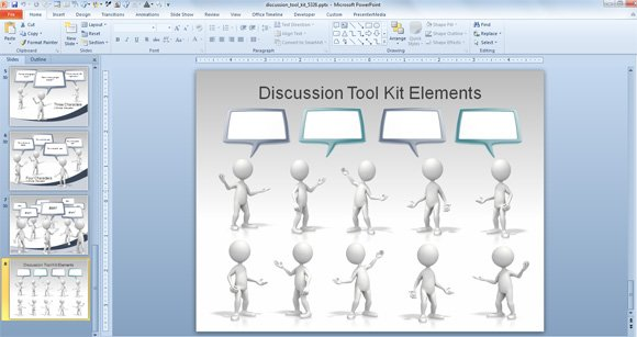 animated callouts speech bubbles and discussion templates