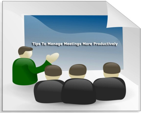 manage meetings This will help you continue to improve your process of running effective meetings  your management style, and the preferences of your team and some meetings may .