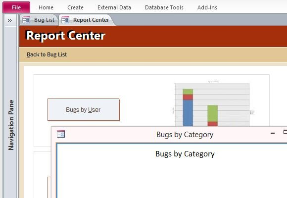 How to log and track bugs in microsoft access powerpoint for Access 2013 templates free