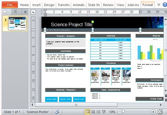 Design Research Poster Powerpoint