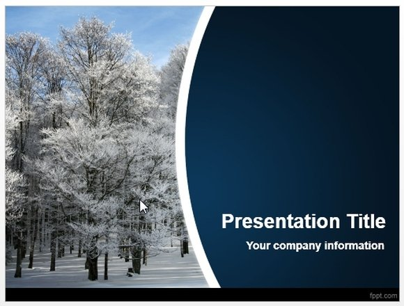 winter powerpoint template - 28 images - free blue winter, Modern powerpoint