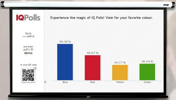 how to create a poll in powerpoint