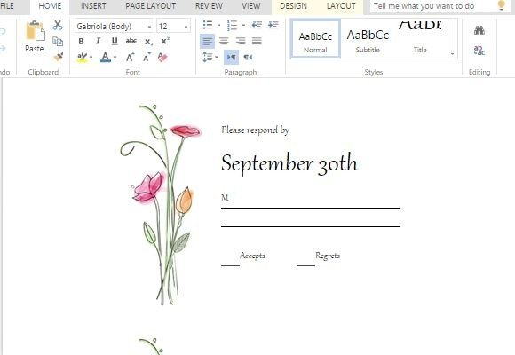 free rsvp template - rsvp cards maker template for word powerpoint presentation