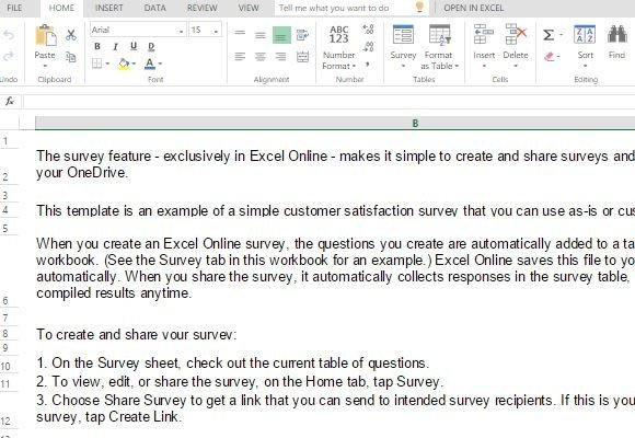 email templates for customer service - customer satisfaction survey template for excel